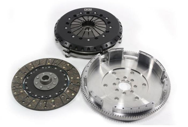 DKM DKM Stage 3 MS Twin Disc Clutch & Flywheel Kit | BMW | E46 M3 | S54 MS-006-054