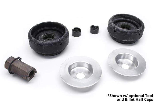 "UroTuning Kits Front Strut Mount Half Caps ""LOW"" Kit w/Bearings 