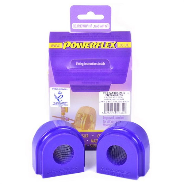 Powerflex Powerflex 24.5mm Front Sway Bar Bushings - MINI F5X Gen 3 PFF5-1303-24.5X2