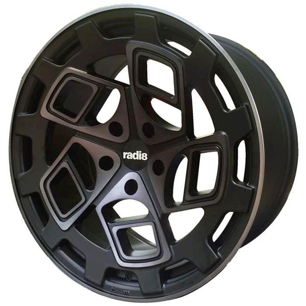 "Radi8 Wheels 5x112 19x8.5"" et45 - 66.56mm Hub Radi8 R8CM9 Wheel 19"" Dark Mist CM9-1985-5112-45-DM"