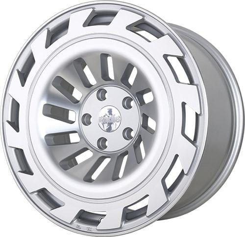 "Radi8 Wheels 5x112 19x8.5"" et45 - 66.56mm Hub Radi8 Wheels R8T12 Silver Machined 19"" T12-1985-5112-45-MSMF"