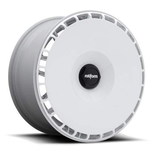 Rotiform White - (32170-AC-W) / Machined - (32170-26-AR) Rotiform Aerodisc Rotiform-Aerodisc