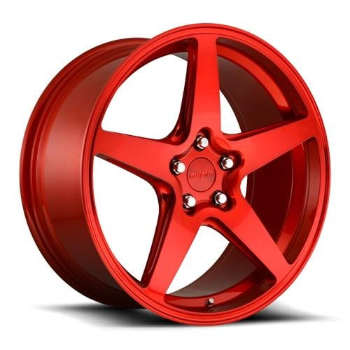 "Rotiform Rotiform Cast WGR 19"" 5x112 - Candy Red R149198543+45"