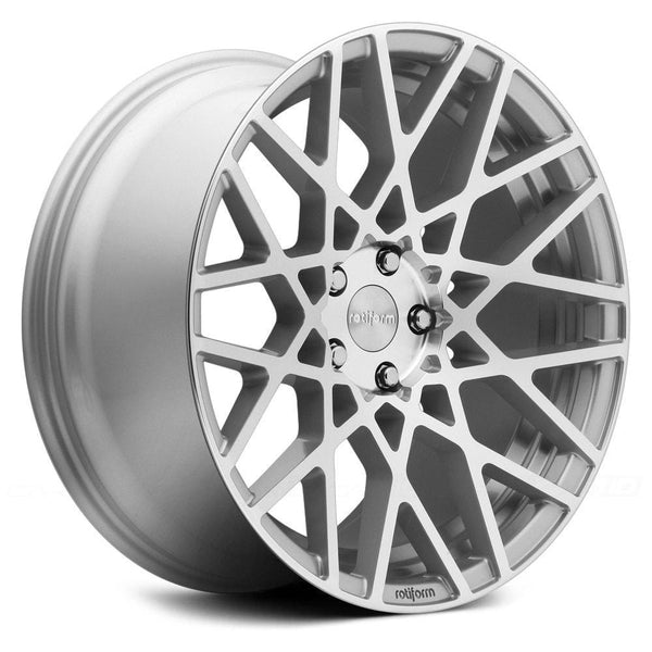 "Rotiform 5x112 / 20x8.5 et45 66.5mm CB Rotiform Cast BLQ Wheel 20"" 5x112 R110208543+45"