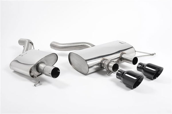 "Milltek 3"" Non-Resonated catback Exhaust (Black Tips) Milltek Performance Exhaust System SSXVW217"