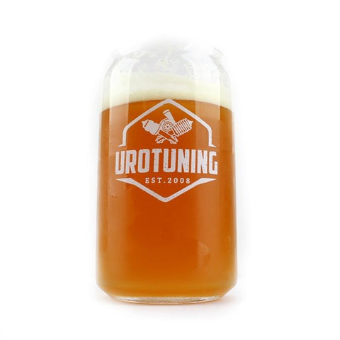 UroTuning Beer Can Glass