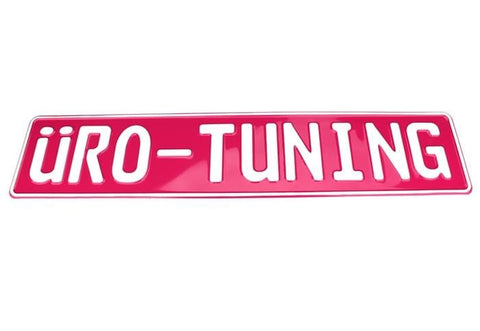 UroTuning European License Plate | Hot Pink