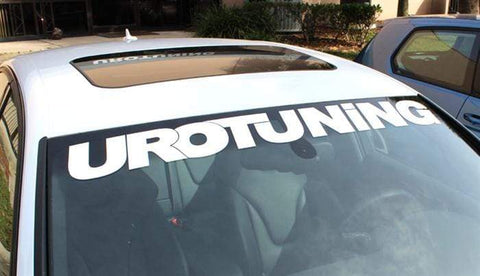 "UroTuning 44"" Windshield Sticker"
