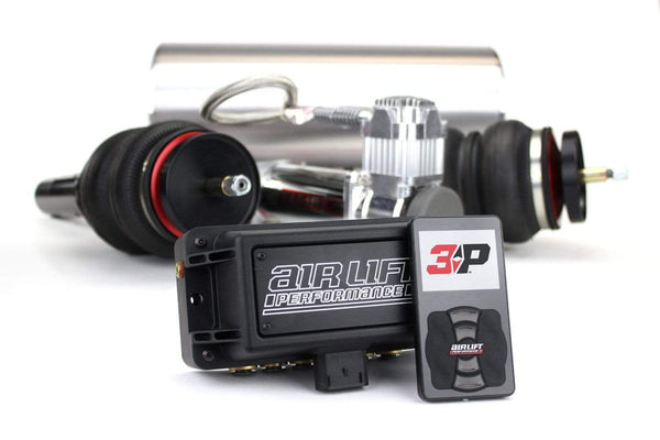 Urostance Air Lift Kit w/ Performance 3P Digital Controls | BMW E36 Rwd BAG-E36-3P-FullKit