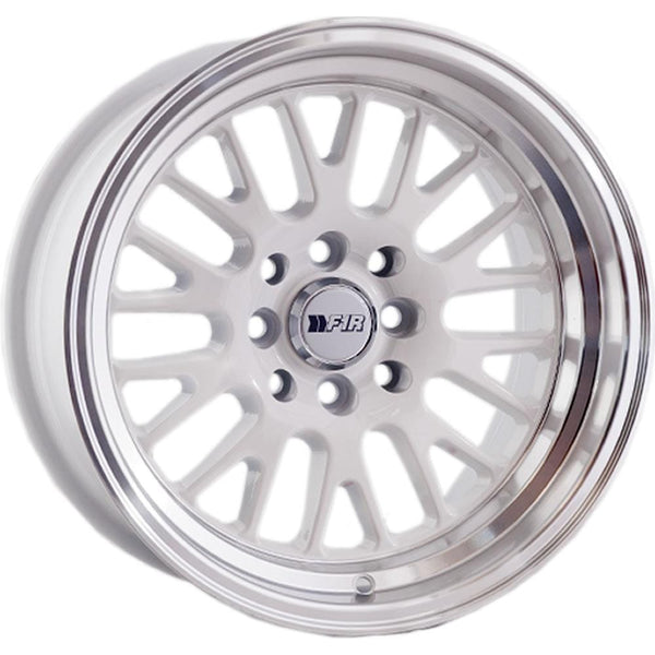 "F1R F04 15x8 ET0 4x100/114.3 White/Polish Lip F1R F04 15"" White/Polish Lip F04158W0"