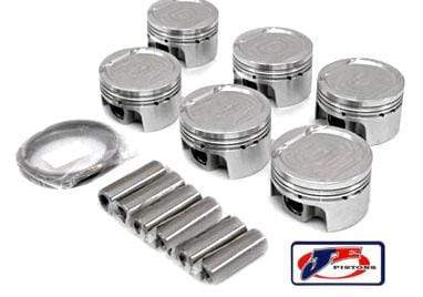 JE Pistons Piston Set by JE - 84.0mm Bore | 8.5:1 CR | Stock Stroke - 95.9mm - 3.2L VR6 R32 JE-24V-VR6R32-279946