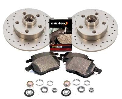 UroTuning Brake Kit Rear 226mm Mk3 Golf | Jetta VR6 Sport Brake Kit 357615601B_X_D104P