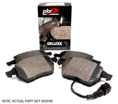 PBR No Thanks Front | PBR Deluxe Brake Pads | Mk4 1.8T | VR6 D1492D