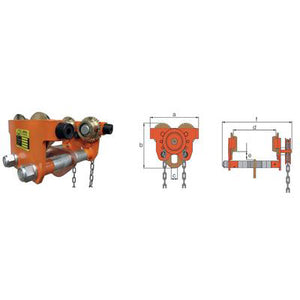 ATEX Geared Trolley