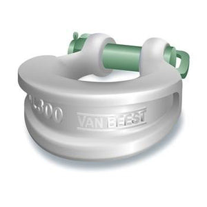 Green Pin Sling Shackles Bow Type with Safety Nut and Bolt Pin - P-6033