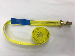 Webbing Long End c/w Claw Hook with Safety Catch