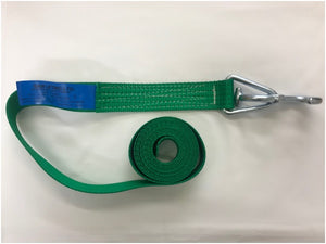 Webbing Long End c/w Universal 'T' Hook