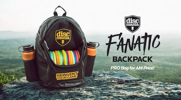 Introducing the Discmania Fanatic Backpack