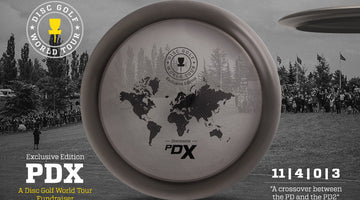 Discmania PDx - Exclusive Disc Golf World Tour Fundraiser