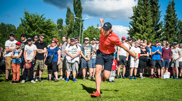 Tuomas Hyytiäinen Brings Energy and Passion to Disc Golf