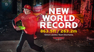 Lizotte sets the new Distance World Record