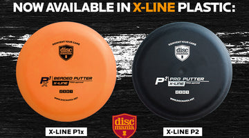 Add Xtra grip to your putter game - Discmania X-line