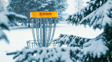 Navigating a Winter Round of Disc Golf