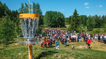 Tampere Disc Golf Center Opens to Much Praise