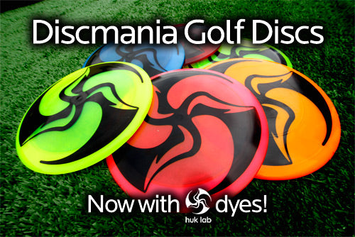 Discmania Huk Lab Dyes now available!