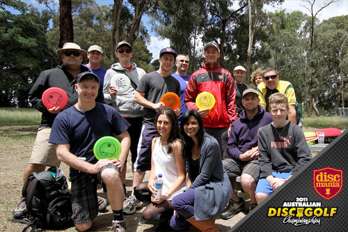 Disc Golf Melbourne Open 2011 group photo