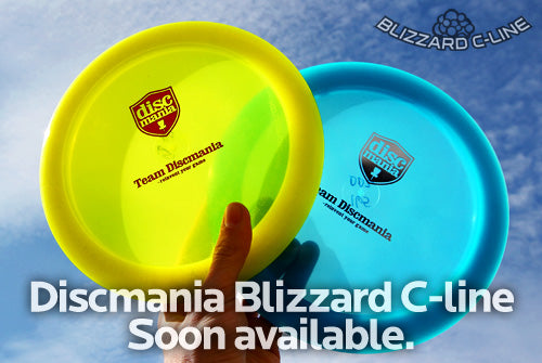 Discmania Blizzard C-line soon available.