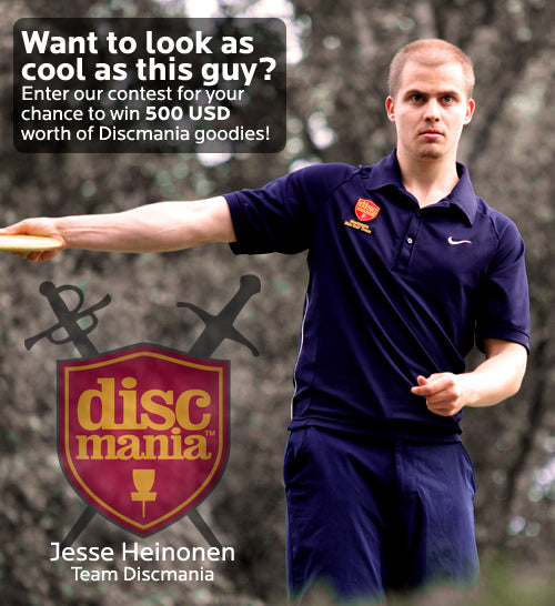 Apply now for your chance to win 500 USD worth of discmania gear!