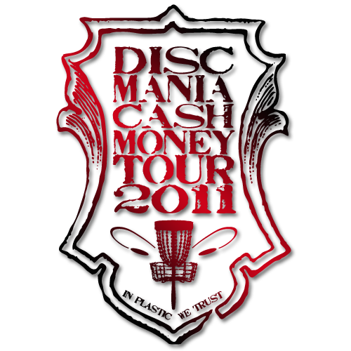 Discmania Cash Money Tour logo