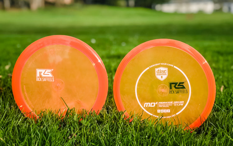 Custom stamped Discmania discs