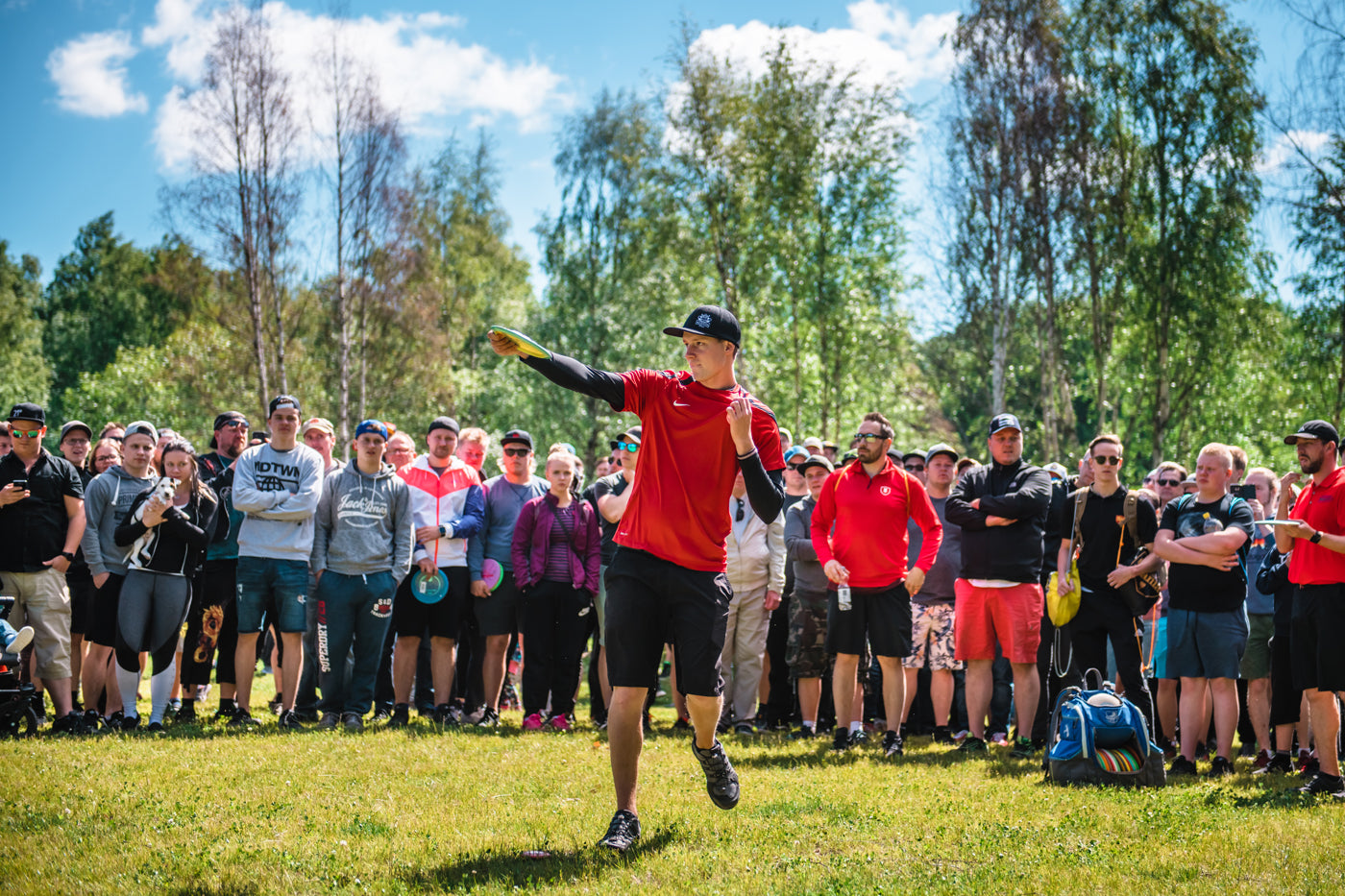 Simon Lizotte at the Tampere Disc Golf Center