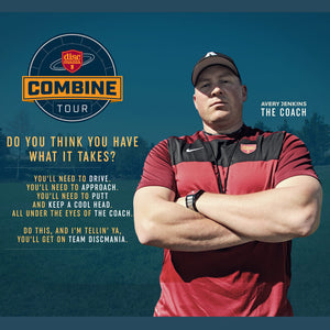 Discmania Combine Registration