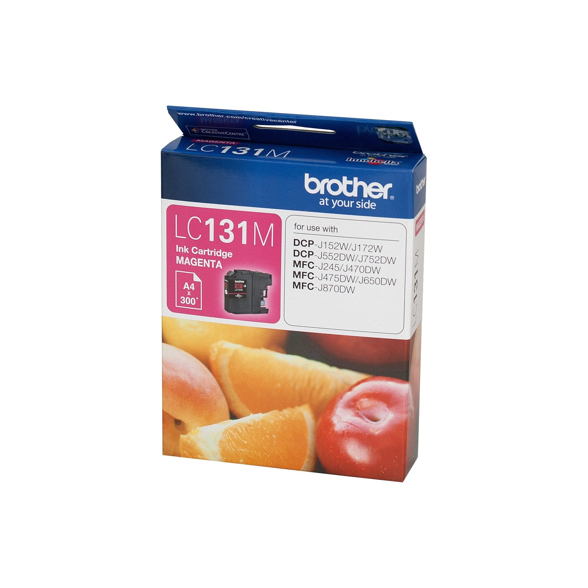 Brother LC-131M Magenta Ink Cartridge