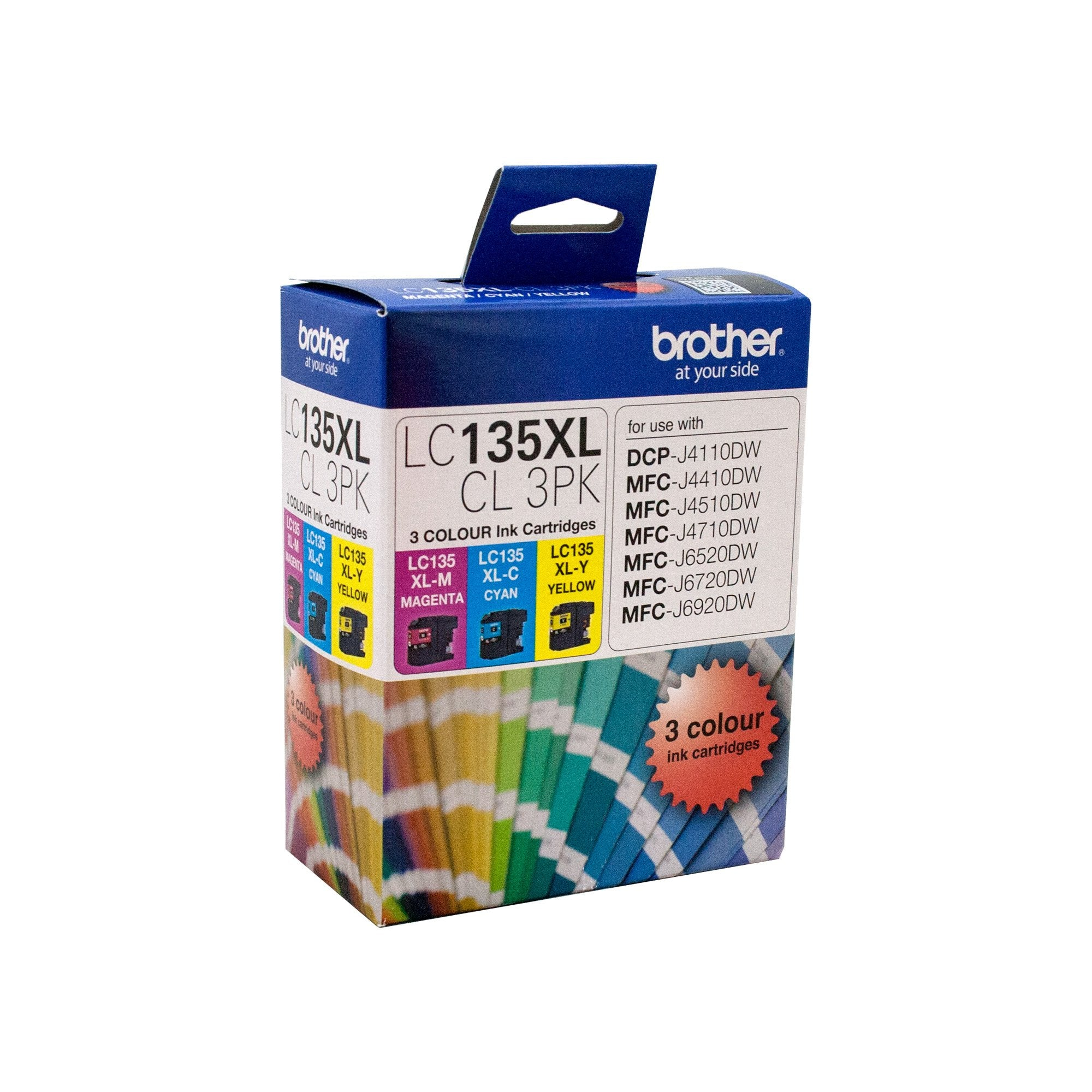 Brother LC-135XLCL3PK Misc Consumables Ink Cartridge