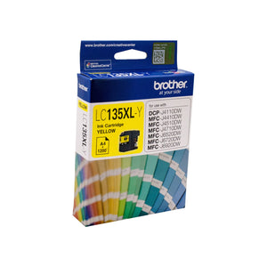 Brother LC-135XLY Yellow Ink Cartridge