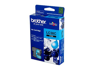 Brother LC-38C Cyan Ink Cartridge