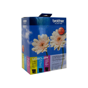 Brother LC-39CL3PK Colour Ink Cartridge