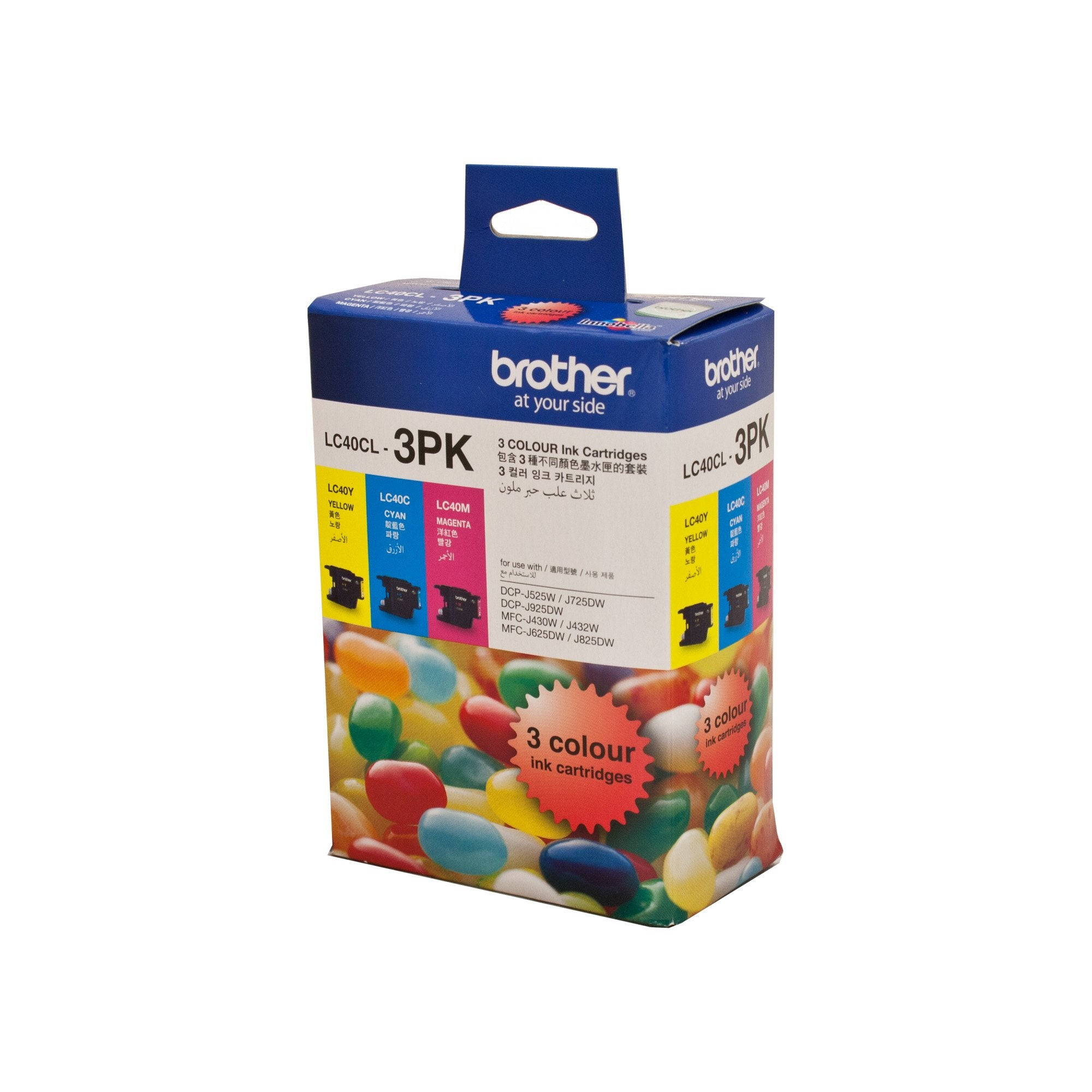 Brother LC-40CL3PK Misc Consumables Ink Cartridge