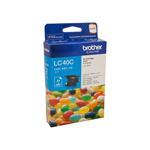 Brother LC-40C Cyan Ink Cartridge