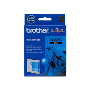 Brother LC-57C Cyan Ink Cartridge