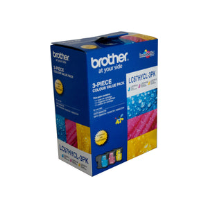 Brother LC-67HYCL3PK Colour Ink Cartridge