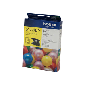 Brother LC-77XLY Yellow Ink Cartridge
