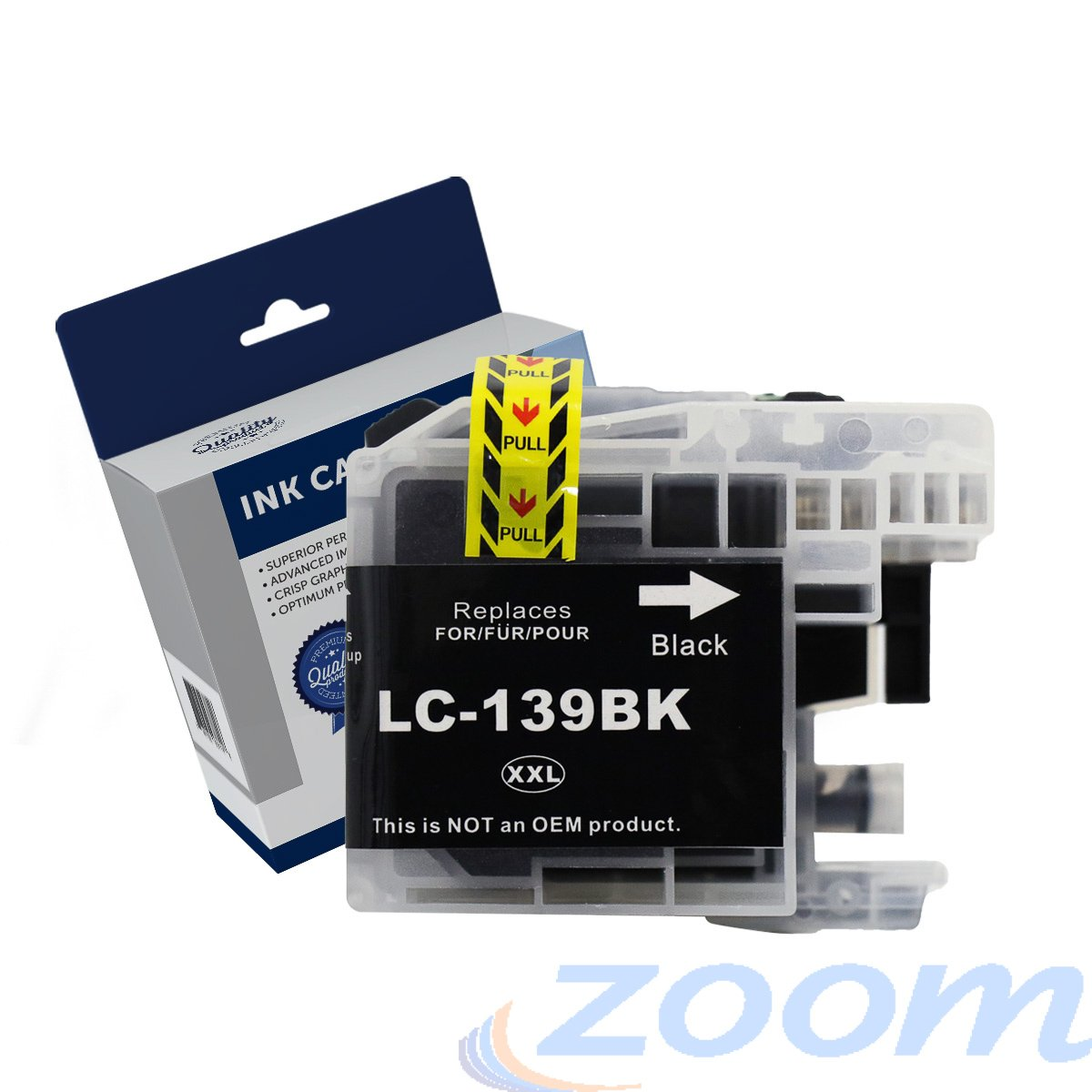 Premium Compatible Brother LC139XLBK Black Extra High Yield Ink Cartridge