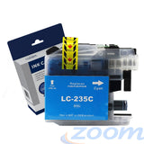 Premium Compatible Brother LC235XLC Cyan Extra High Yield Ink Cartridge