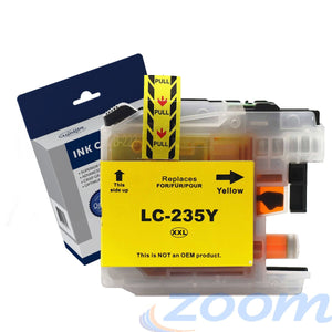 Premium Compatible Brother LC235XLY Yellow Extra High Yield Ink Cartridge