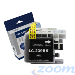 Premium Compatible Brother LC239XLBK Black Extra Extra High Yield Ink Cartridge